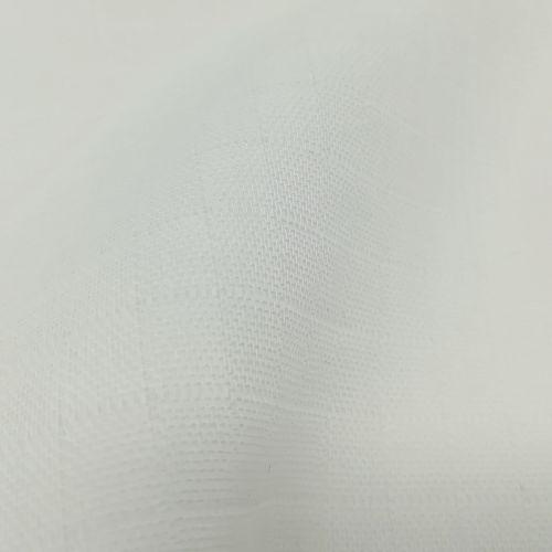 Muselina orgánica Blanco